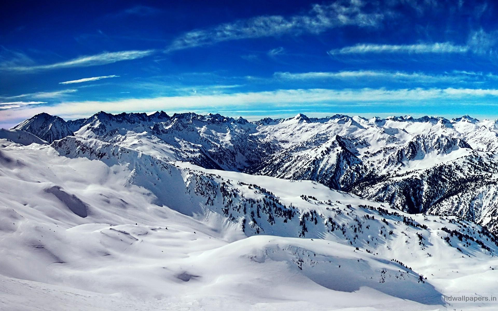 65 Snow Mountain Wallpaper HD 1920x1200