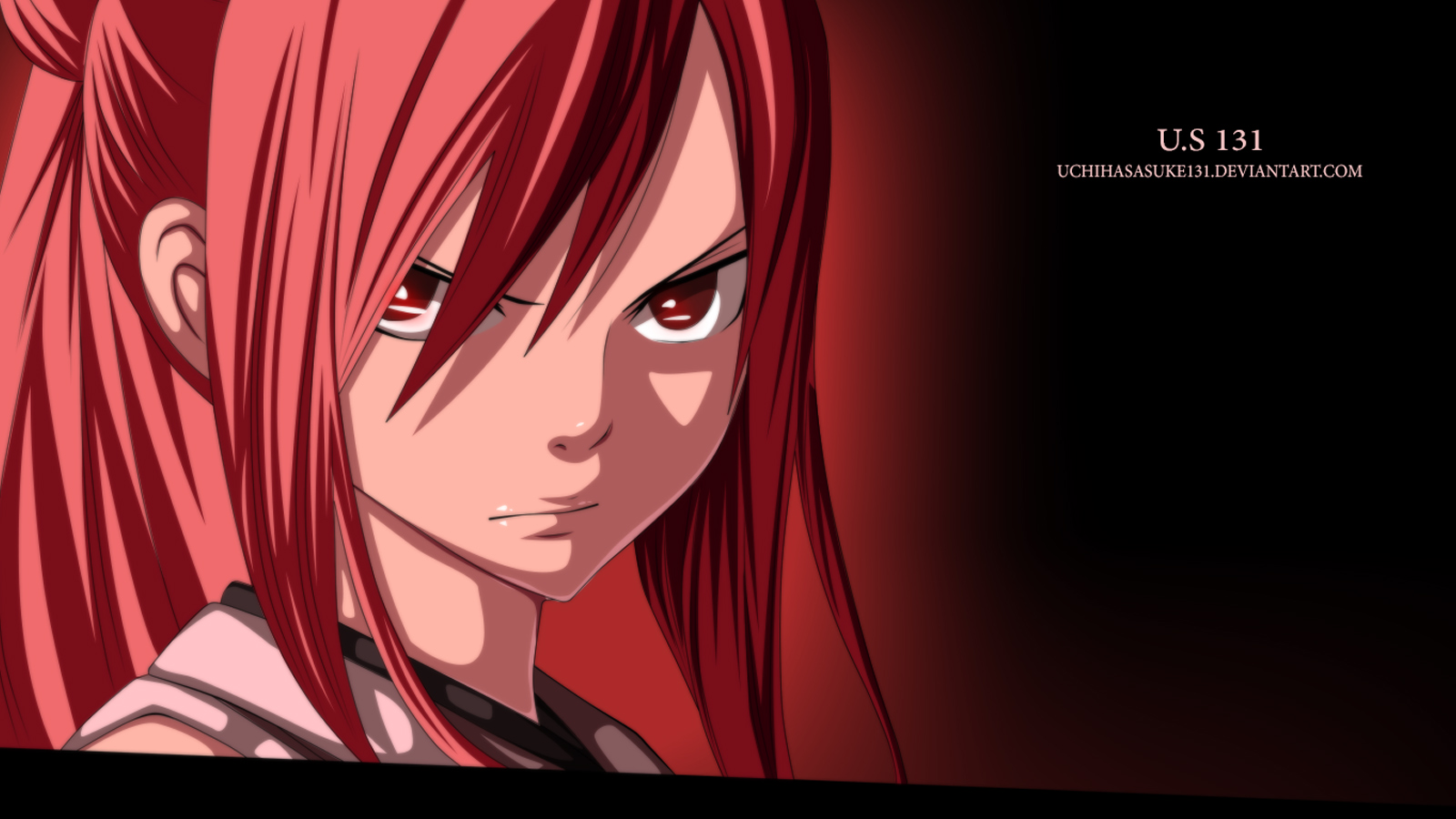 erza scarlet fairy tail girl anime hd wallpaper full resolution 1600x900