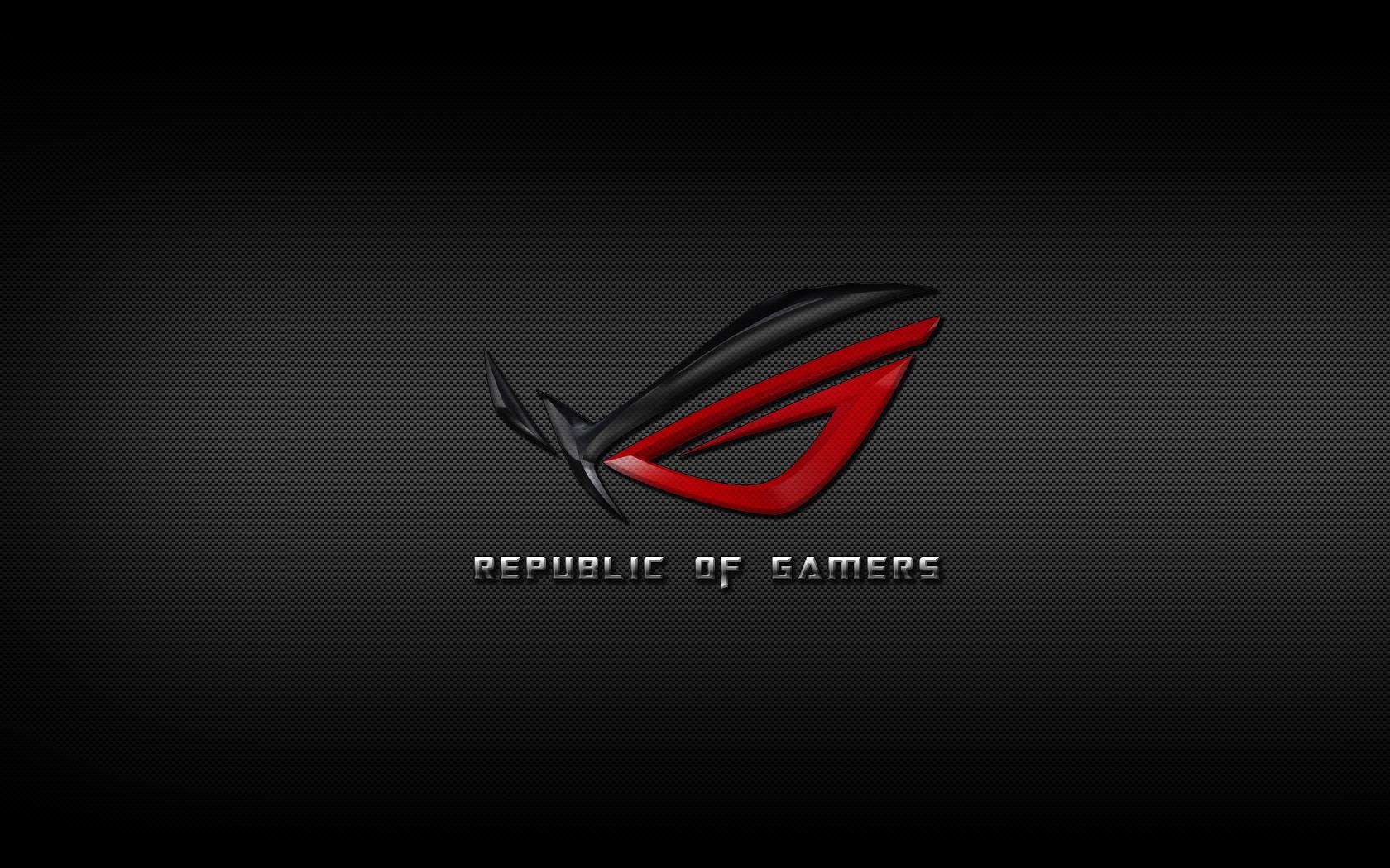 ASUS ROG Republic of Gamers Carbon Fiber by peLu85 1680x1050