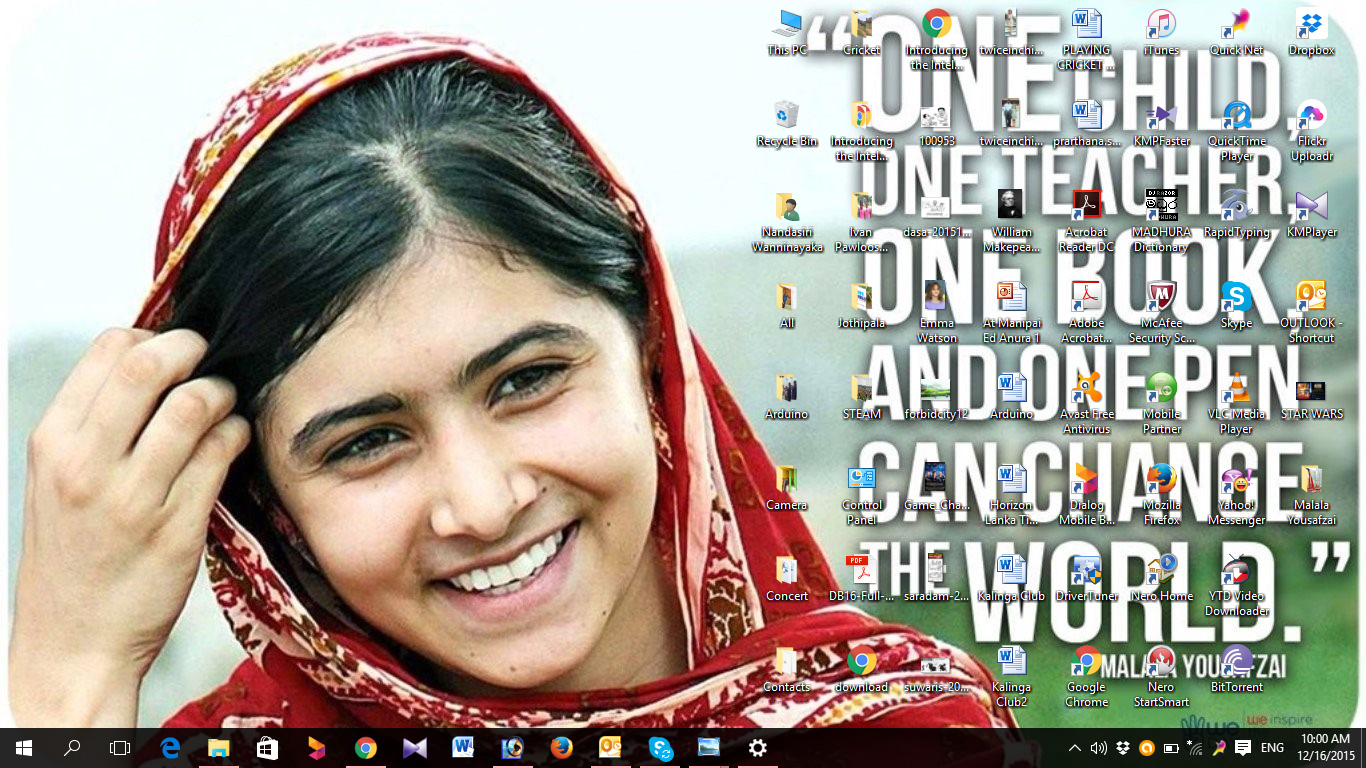 Malala Yousafzai Wallpaper 10   1366 X 768 stmednet 1366x768