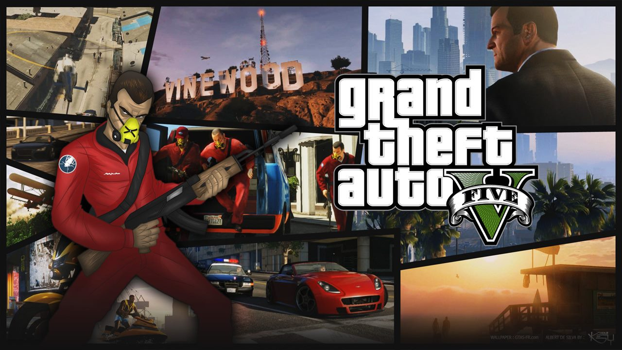 GTA 5 wallpaper   GTA V Grand Theft Auto 5   na Gtacz 1280x720