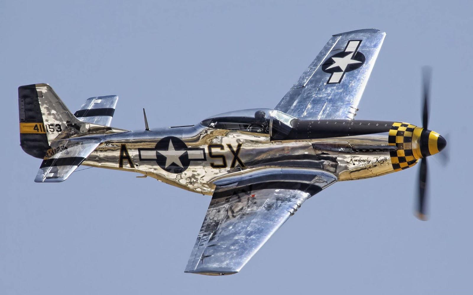 51 Mustang vliegtuig wallpaper Bureaublad achtergrondennl 1600x1000