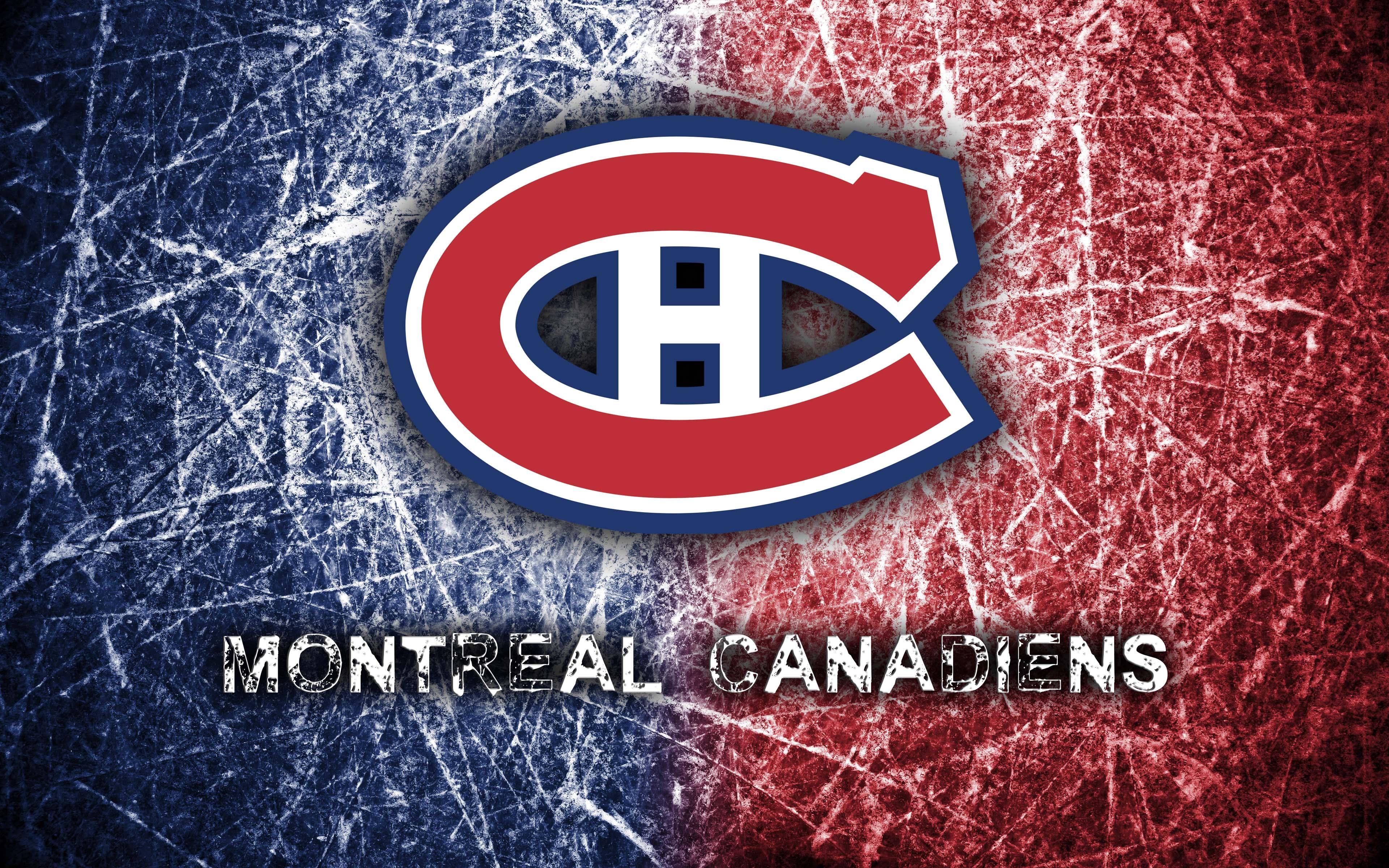 Montreal Canadiens 2014 Logo Wallpaper 3840x2400