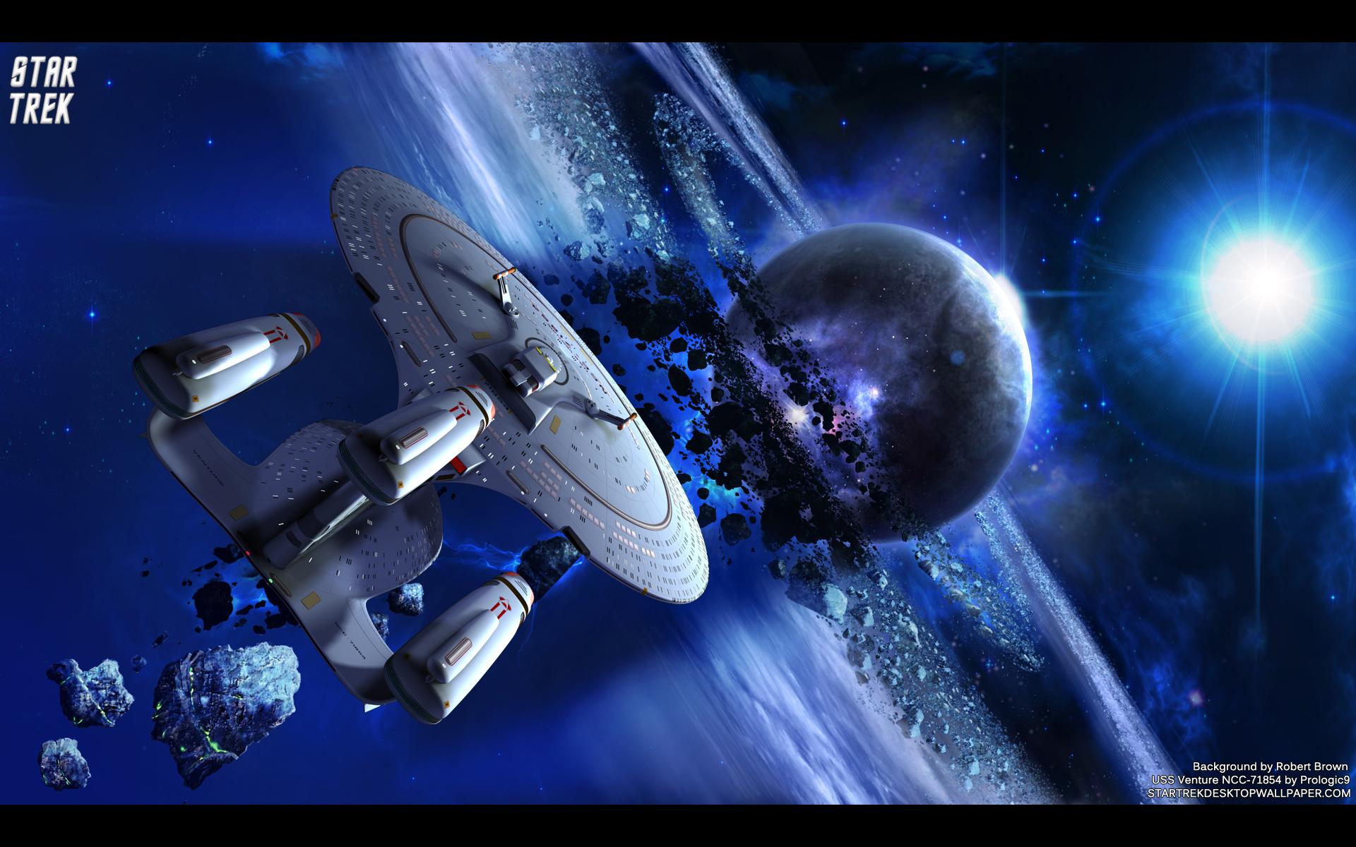 Free Download Trek Uss Venture Ncc71854 Star Trek Computer Desktop