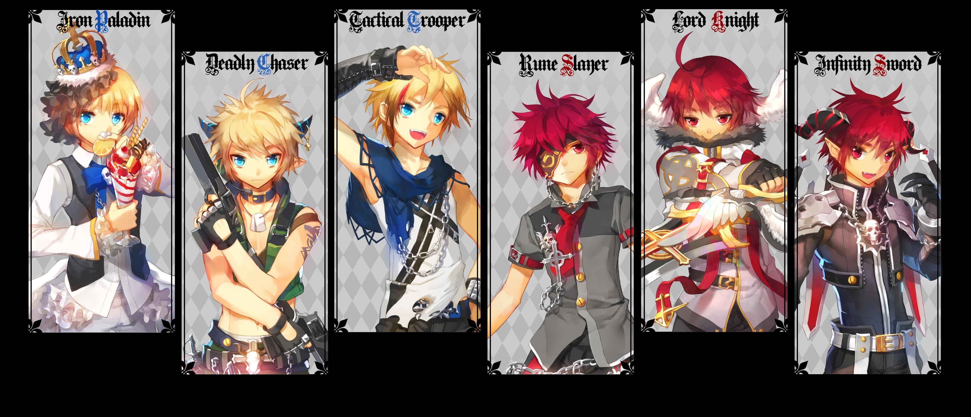 Infinity Sword Elsword   Elsword Character   Zerochan Anime 3400x1462