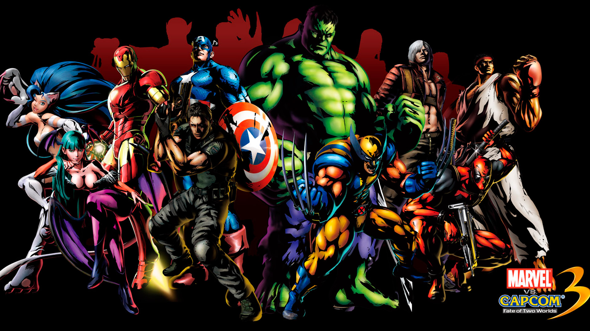 Marvel Heroes Wallpaper Background PC 1920x1080