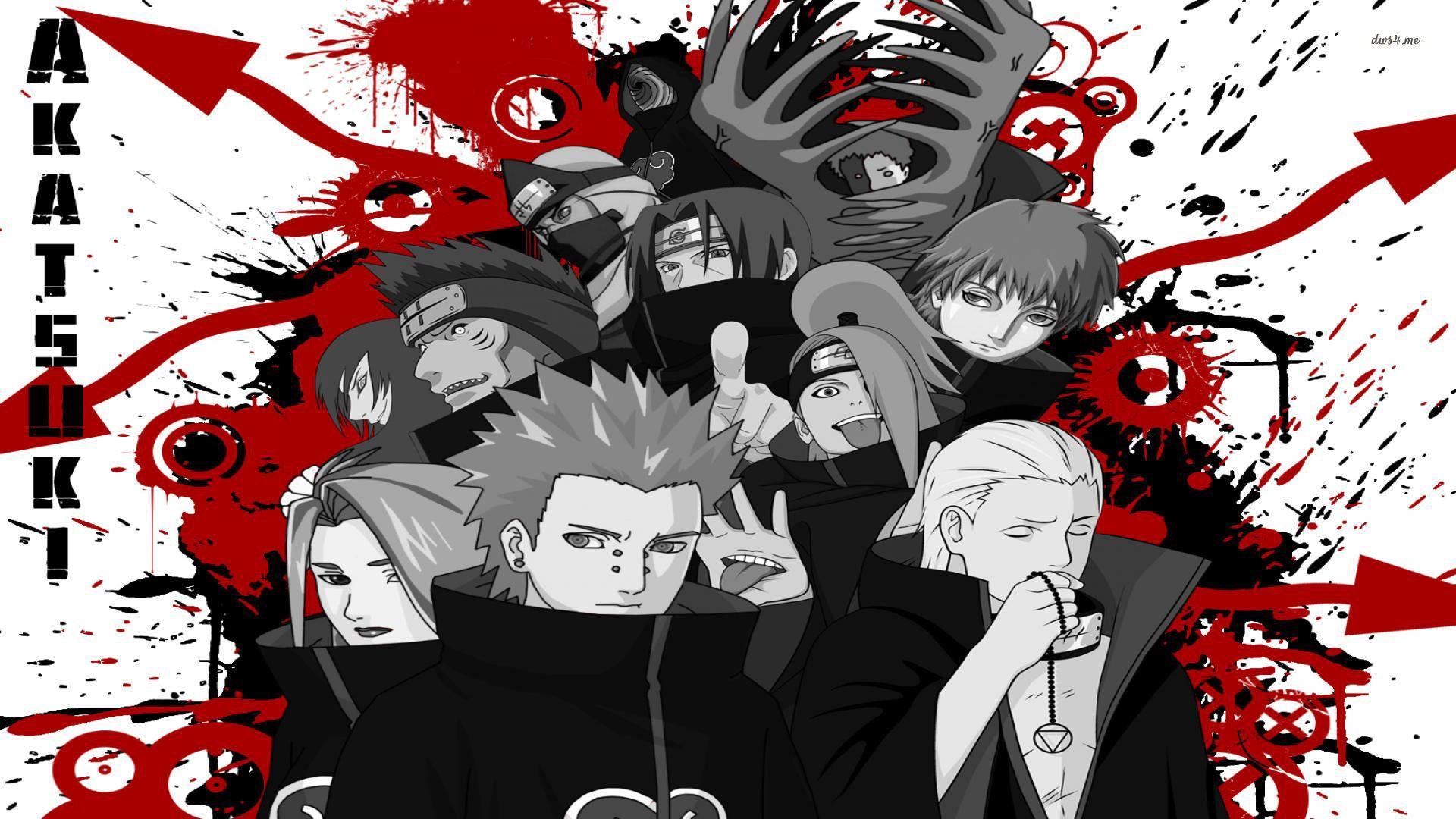 Free Akatsuki Naruto Shippuden Wallpaper Anime