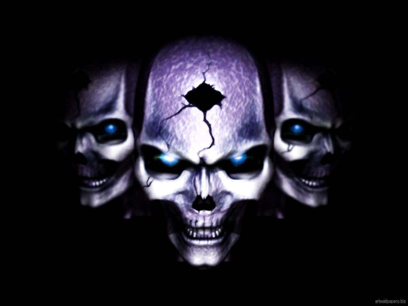 Skull Wallpaper Skull Wallpapers Art Desktop Wallpapers 1600x1200 1600x1200
