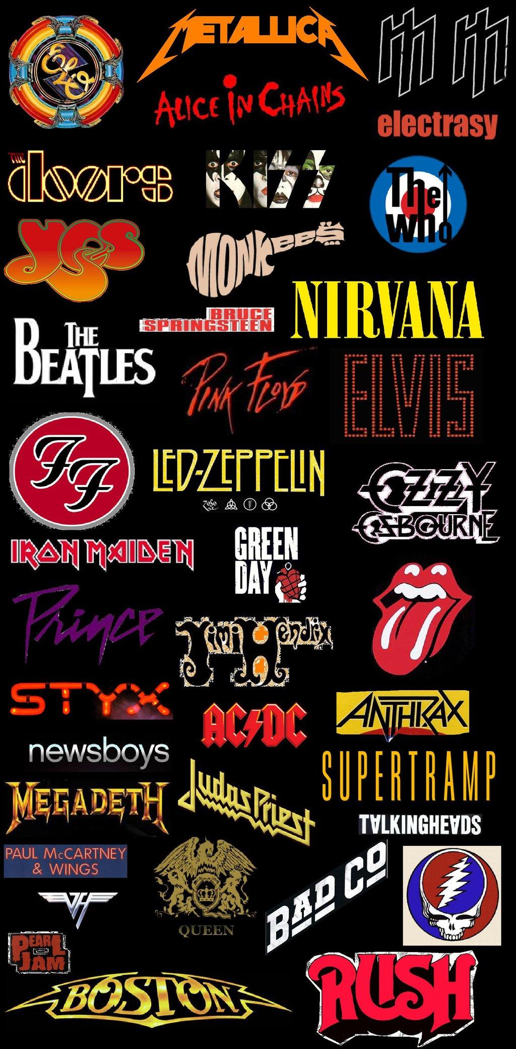 Classic Rock Band Wallpaper Classic rock revolution logos 1024x2081