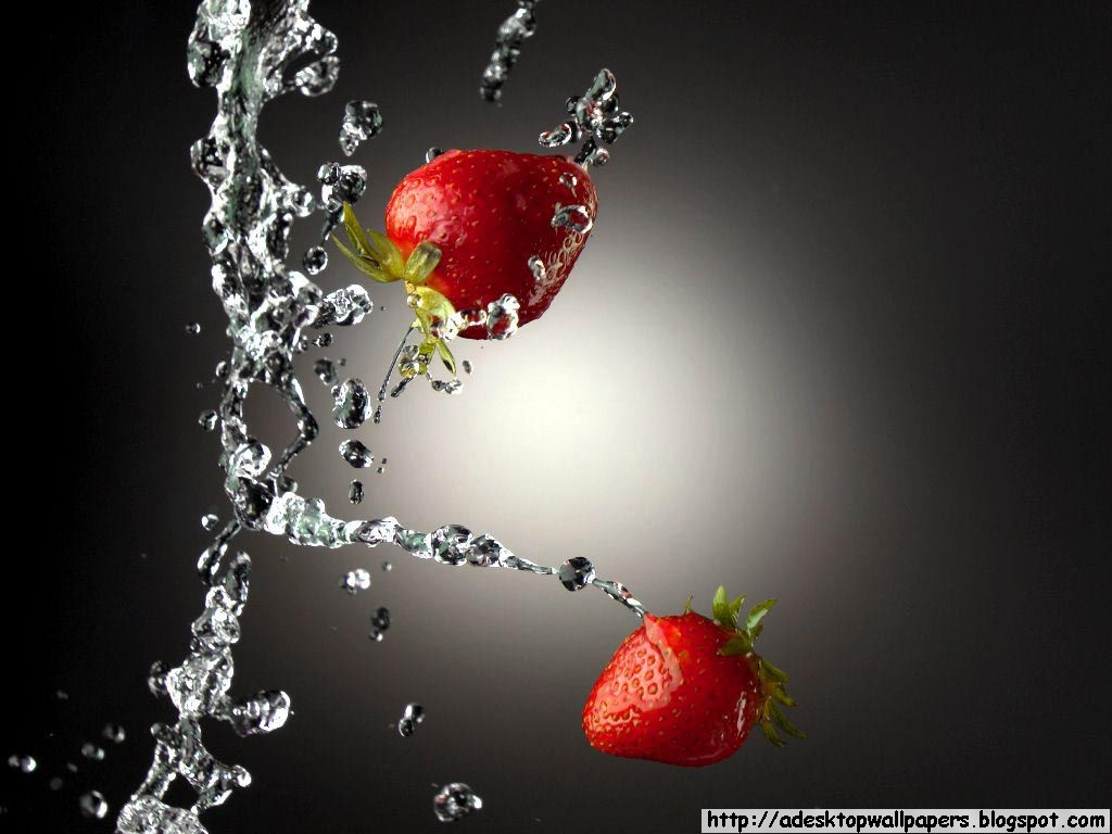 Beautiful fruits wallpapers - Strawberry Fruit Desktop Wallpapers Pc Wallpapers Free Wallpaper