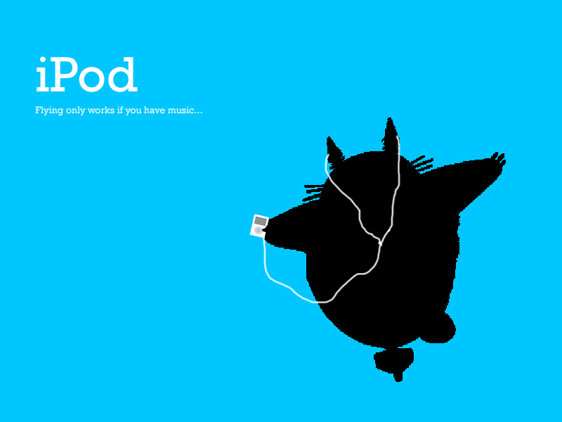Totoro  iPod wallpaper by smileys 4 eva 800x600