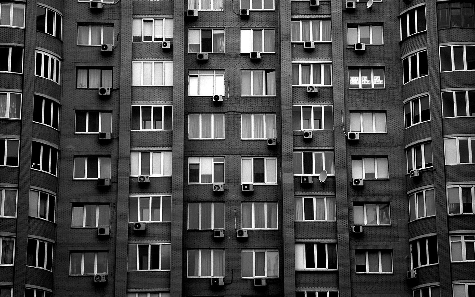 Apartment building wall   Best Wallpapers 1600x1000