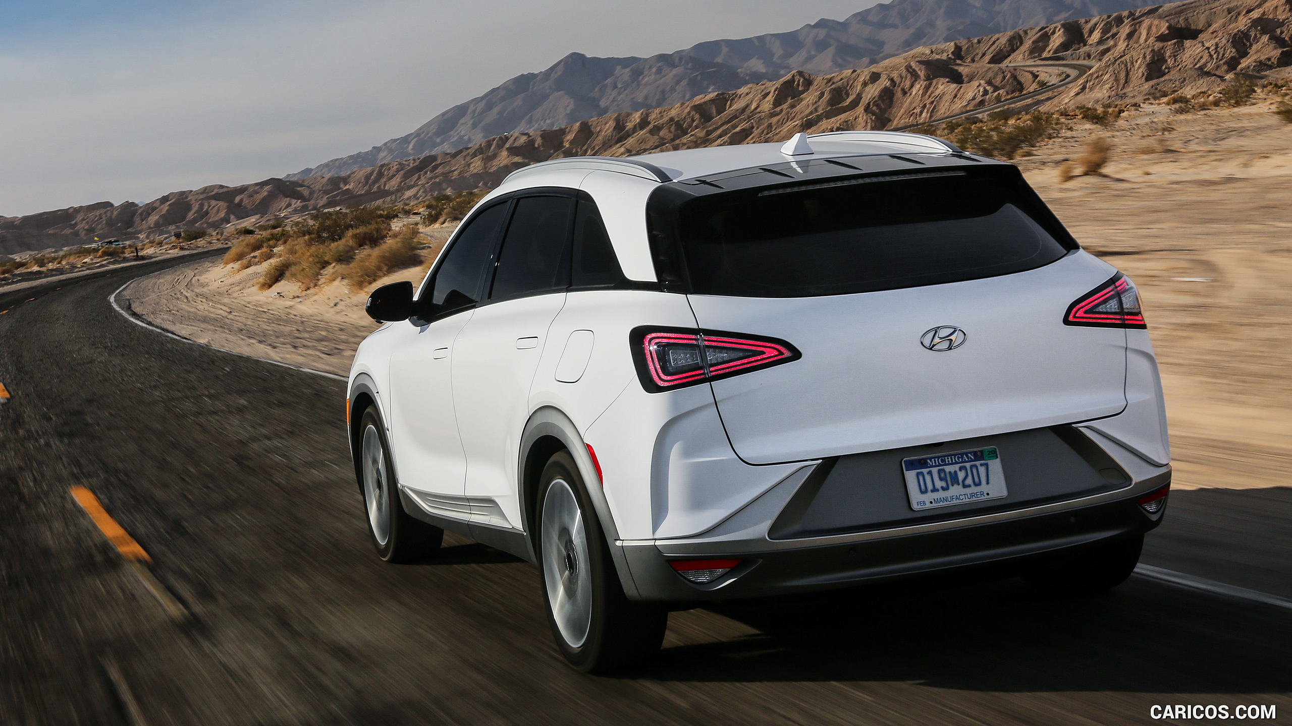 2019 Hyundai NEXO FCEV   Rear Three Quarter HD Wallpaper 8 2560x1440