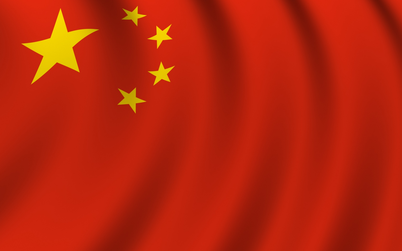 China flag wallpaper in 1680x1050 screen resolution 1680x1050