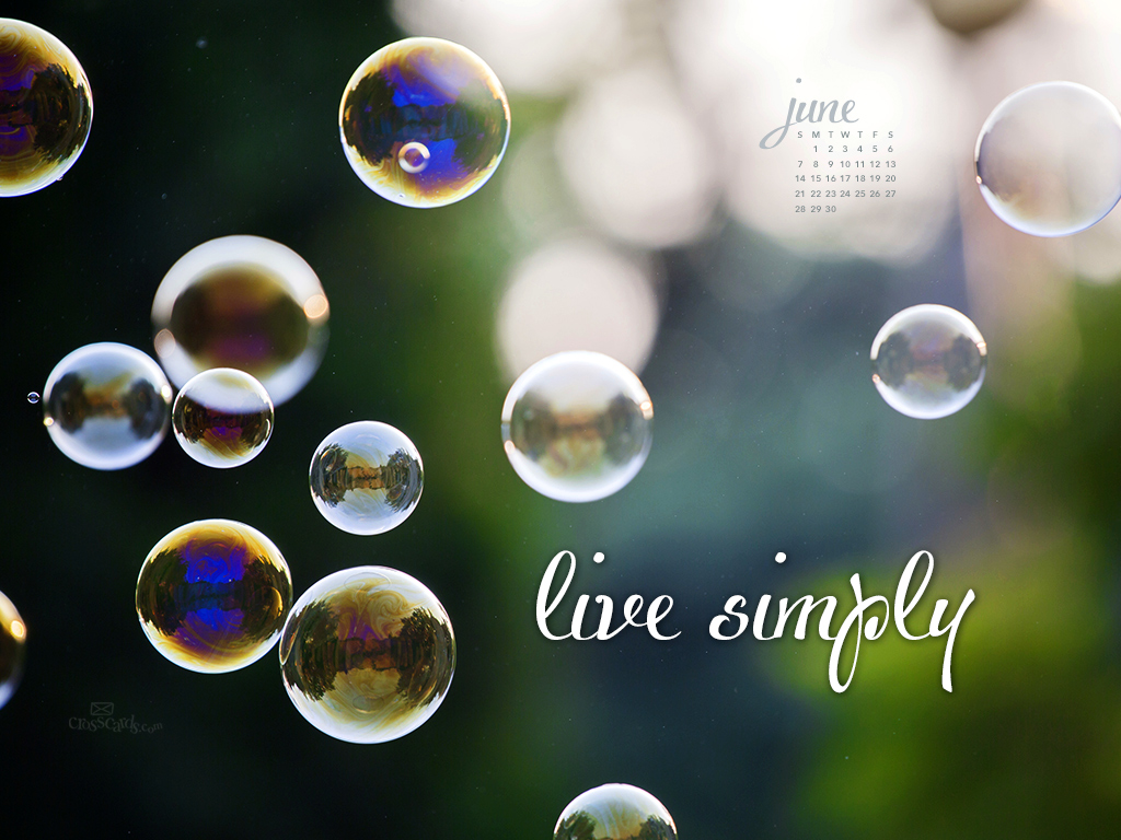 2015   Live Simply Desktop Calendar  Monthly Calendars Wallpaper 1024x768