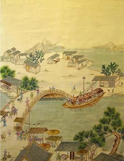 China Hand Painted Wallpaper CHINOISERIE 04   China Wallpaper Hand 400x516