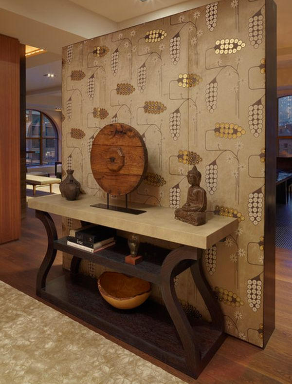 Five Asian Inspired Wall Covering Ideas 600x788