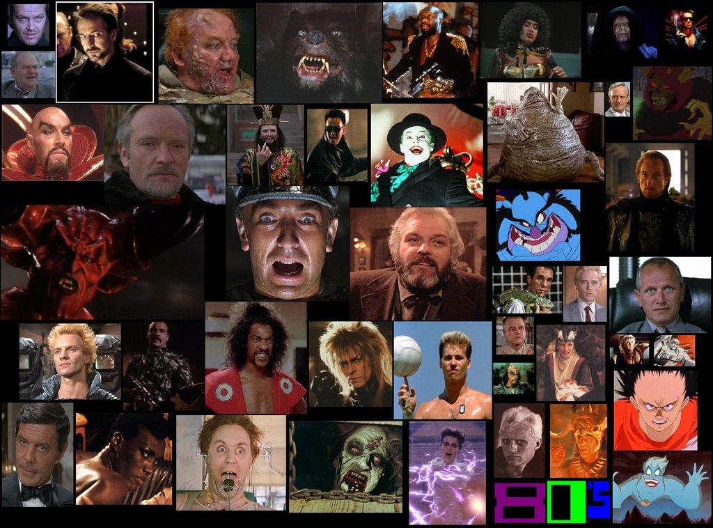 80s Movie Villains Wallpaper 2014 by ESPIOARTWORK 102 1024x758