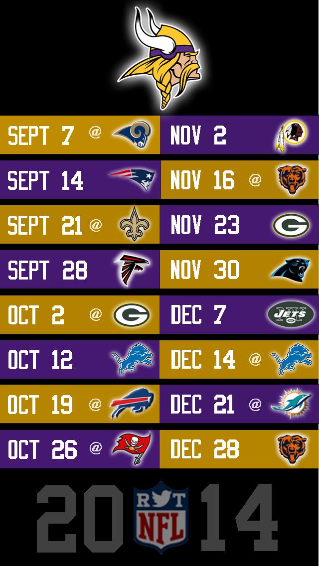photograph relating to Minnesota Vikings Printable Schedule named 50+] 2015 Vikings Plan Wallpaper upon WallpaperSafari