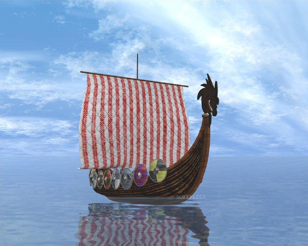 Viking Boats 1280x1024