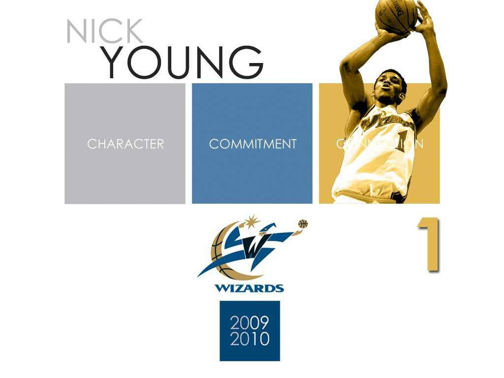 Washington Wizards Player Nick Young Wallpaper 1024x768