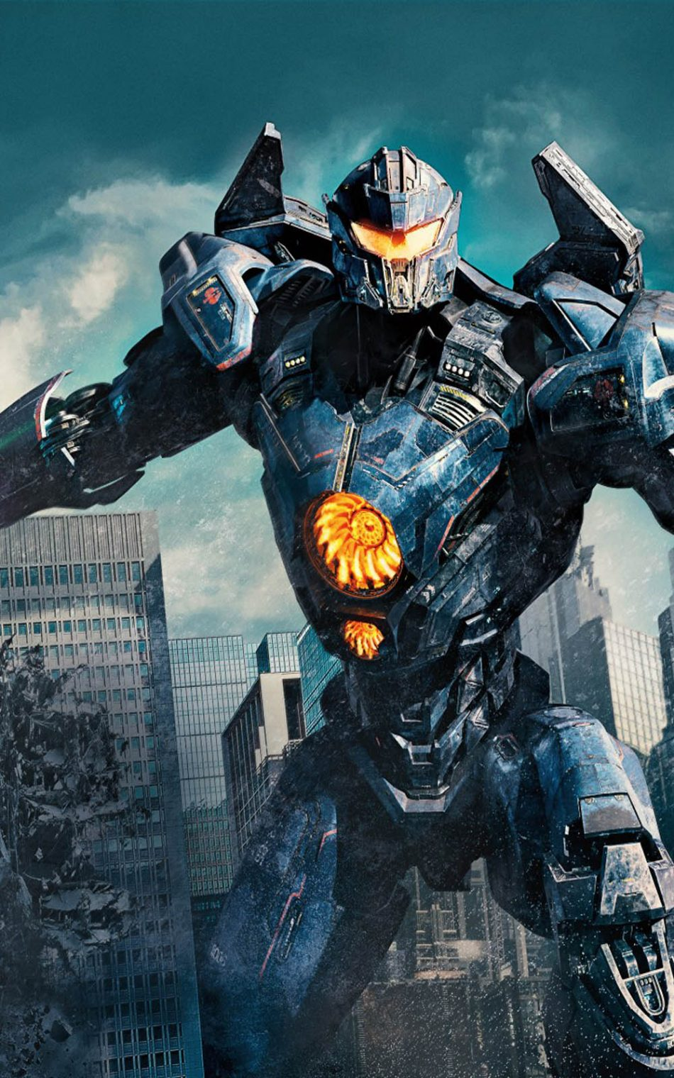 Download Gipsy Avenger Pacific Rim Uprising Pure 4K Ultra HD 950x1520
