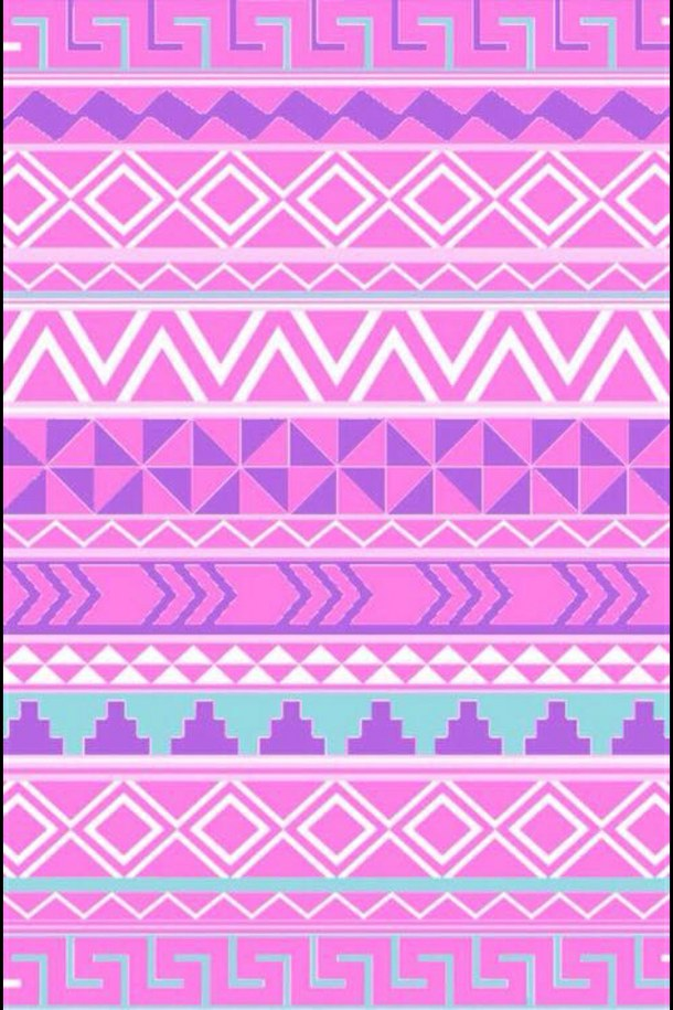 background blue colorful cute green pink purple sweet tribal 610x915