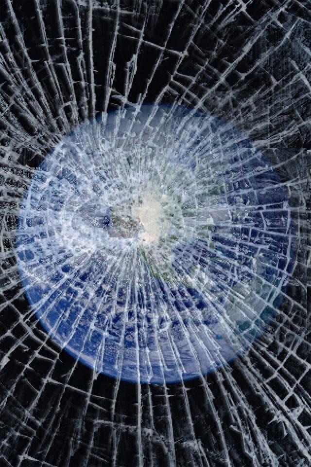 broken screen wallpaper iphone wallpapersafari