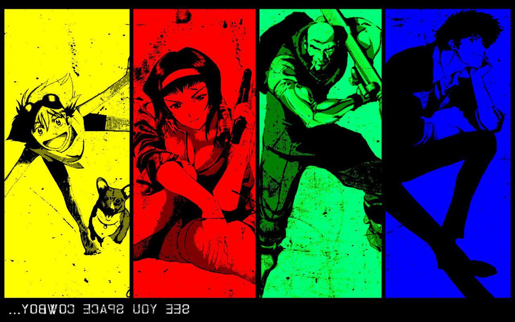 Anime   Cowboy Bebop Computer Wallpapers Desktop Backgrounds 1680x1050