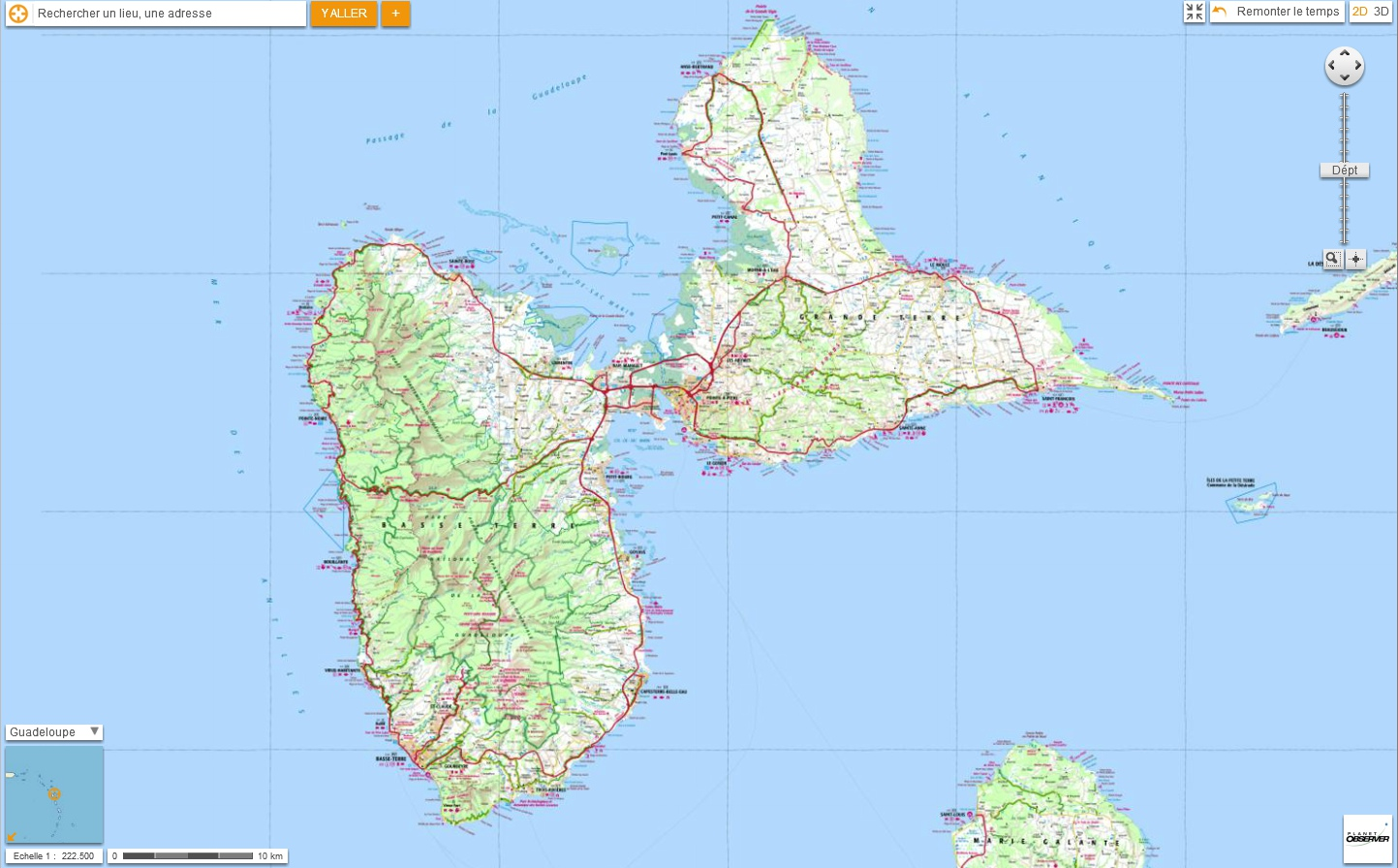 Related image with Carte Guadeloupe 1443x896