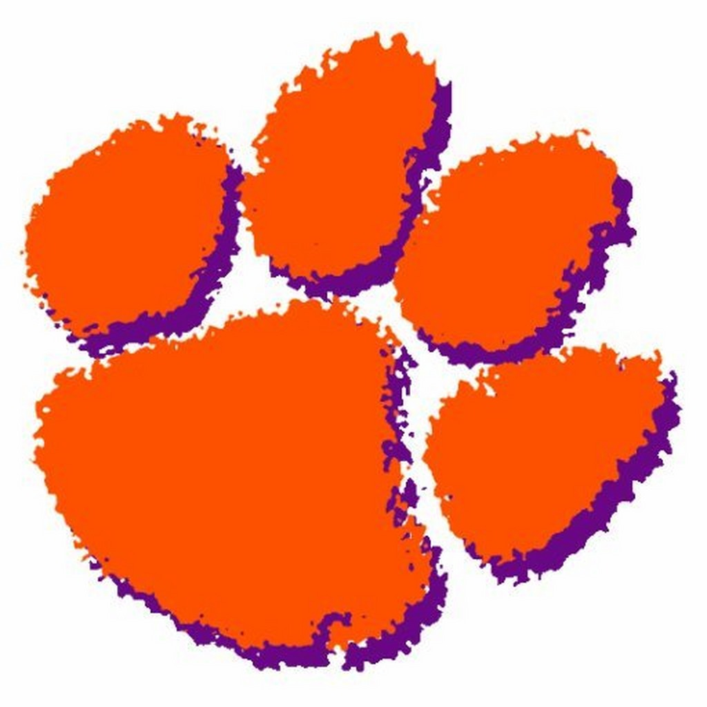 Wallpaper Clemson WallpaperSafari Paw Tiger -
