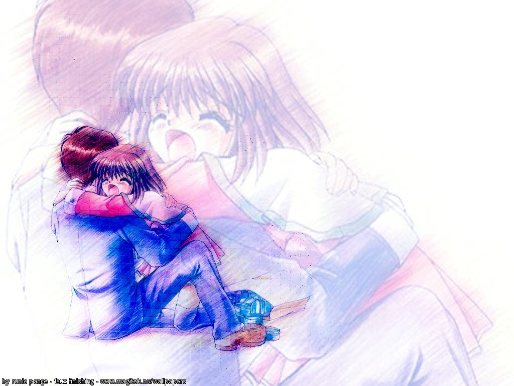 hug wallpaper 1024x768