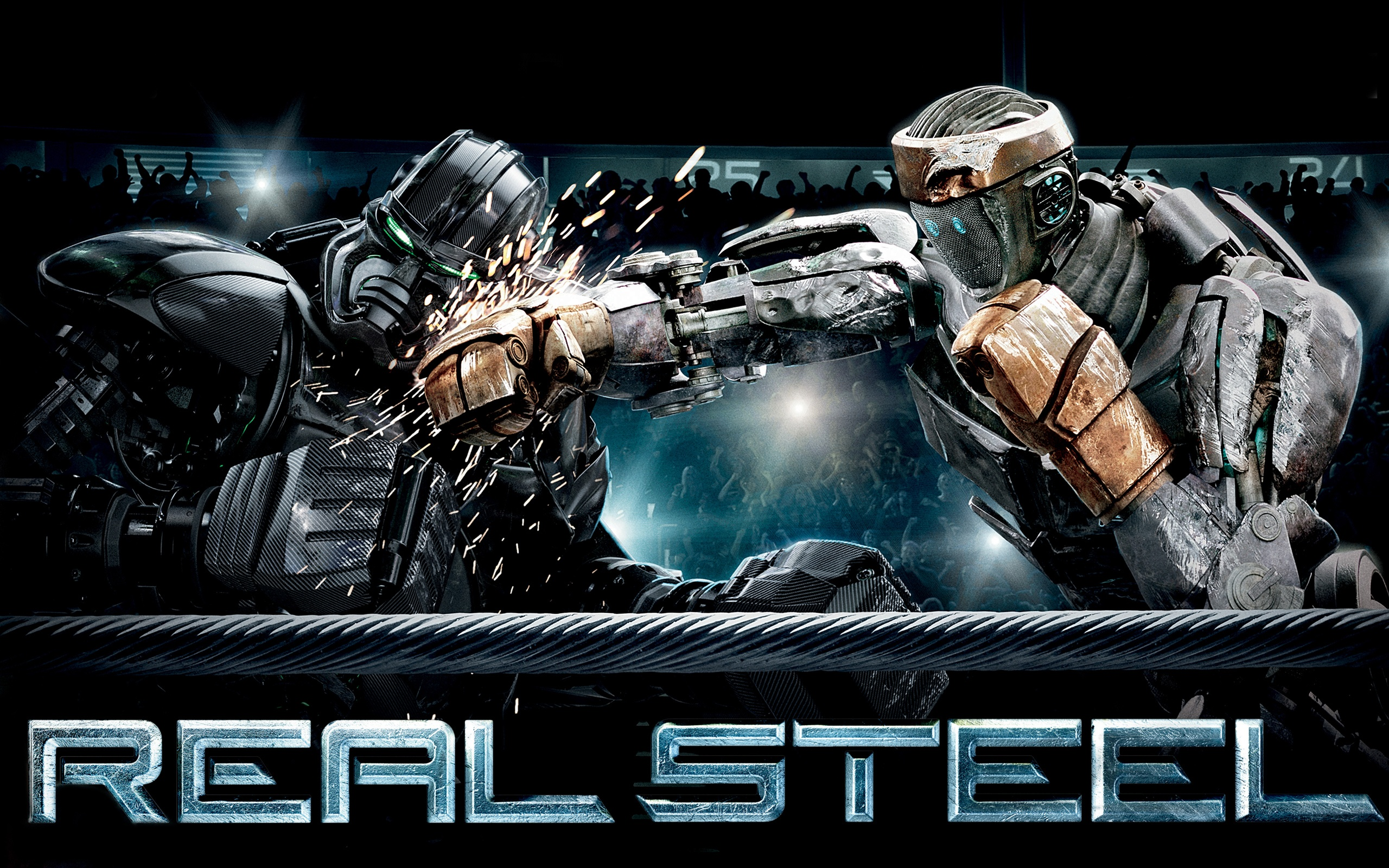 Real Steel Battle Wallpapers HD Wallpapers 2560x1600