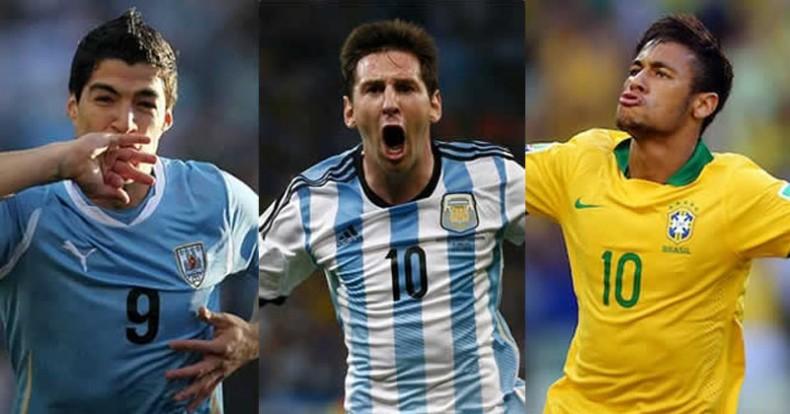 Messi Neymar Suarez Wallpaper 2015 Luis surez messi and neymar 790x414