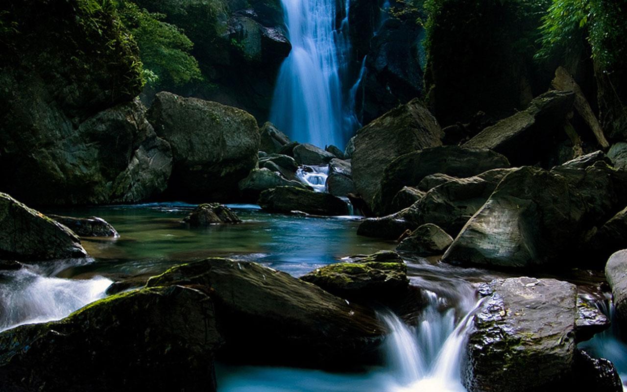 HD wallpapers Samsung Galaxy Tab 101 Waterfall HD backgrounds 1280x800
