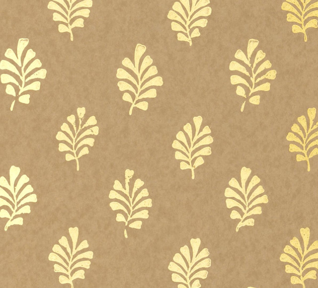 Gold leaf wallpaper wallpapersafari for Gold wallpaper for walls