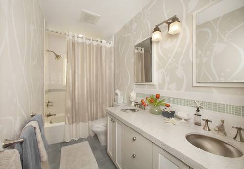 wallpaper for bathrooms Home Designs Wallpapers 500x346