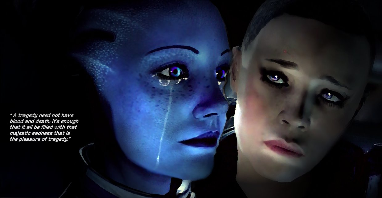 KATHLEEN: Mass effect liara tsoni and shepard romance compilation