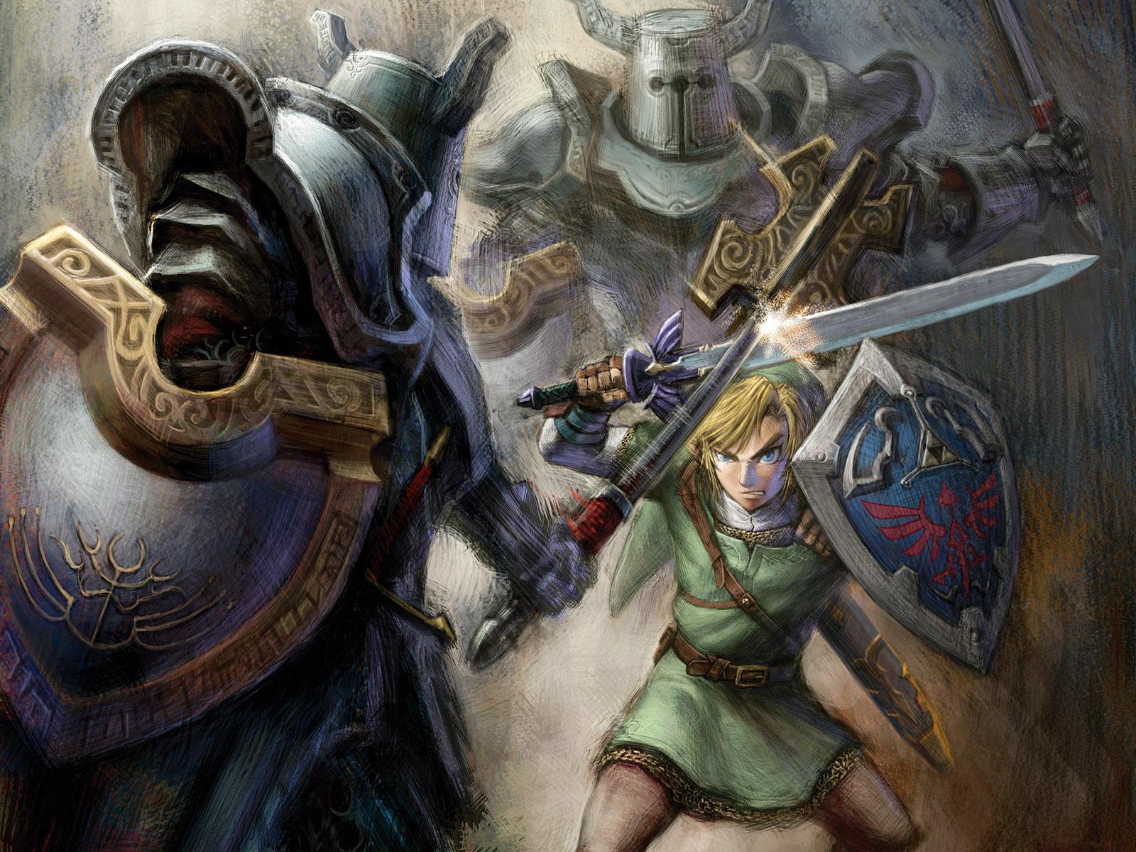 The Legend of Zelda WallpaperPapel de Parede e Imagens para Pc 1600x1200