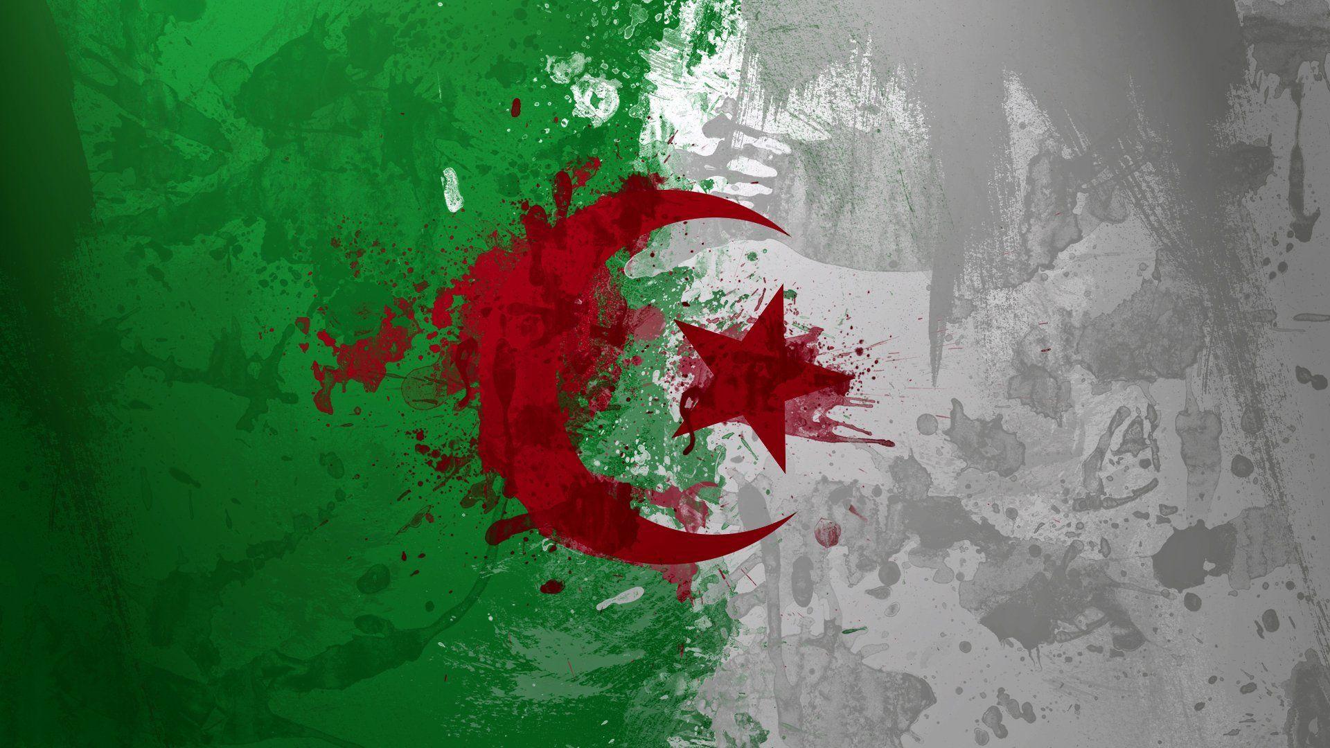 Top HD Algeria Flag Wallpaper Travelling HD 30138 KB 1920x1080