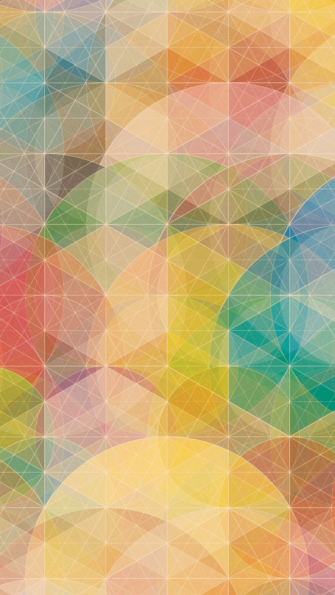 Colorful geometric patterns   Best HTC One M9 wallpaper 1080x1920