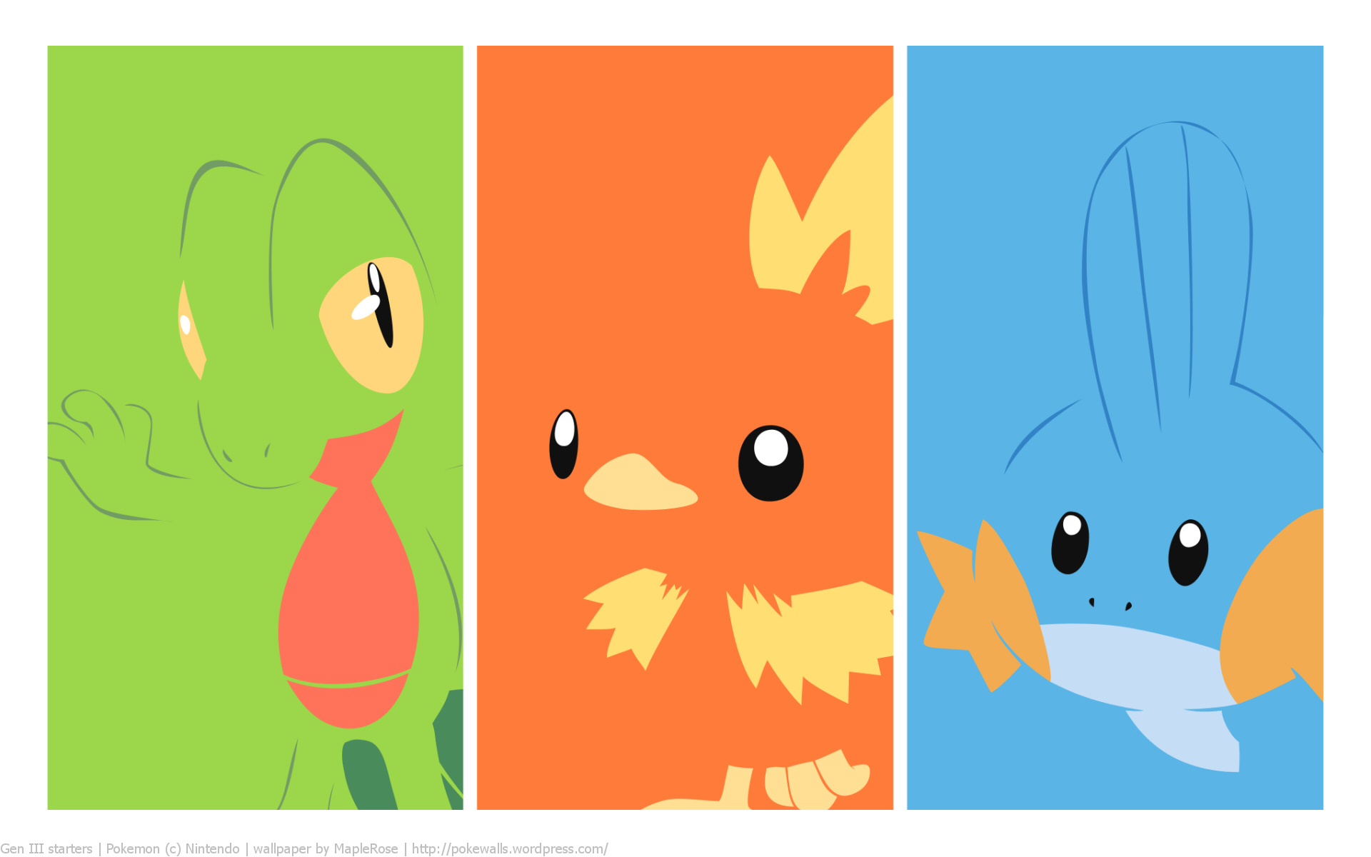 Pokemon Starters Wallpaper - WallpaperSafari