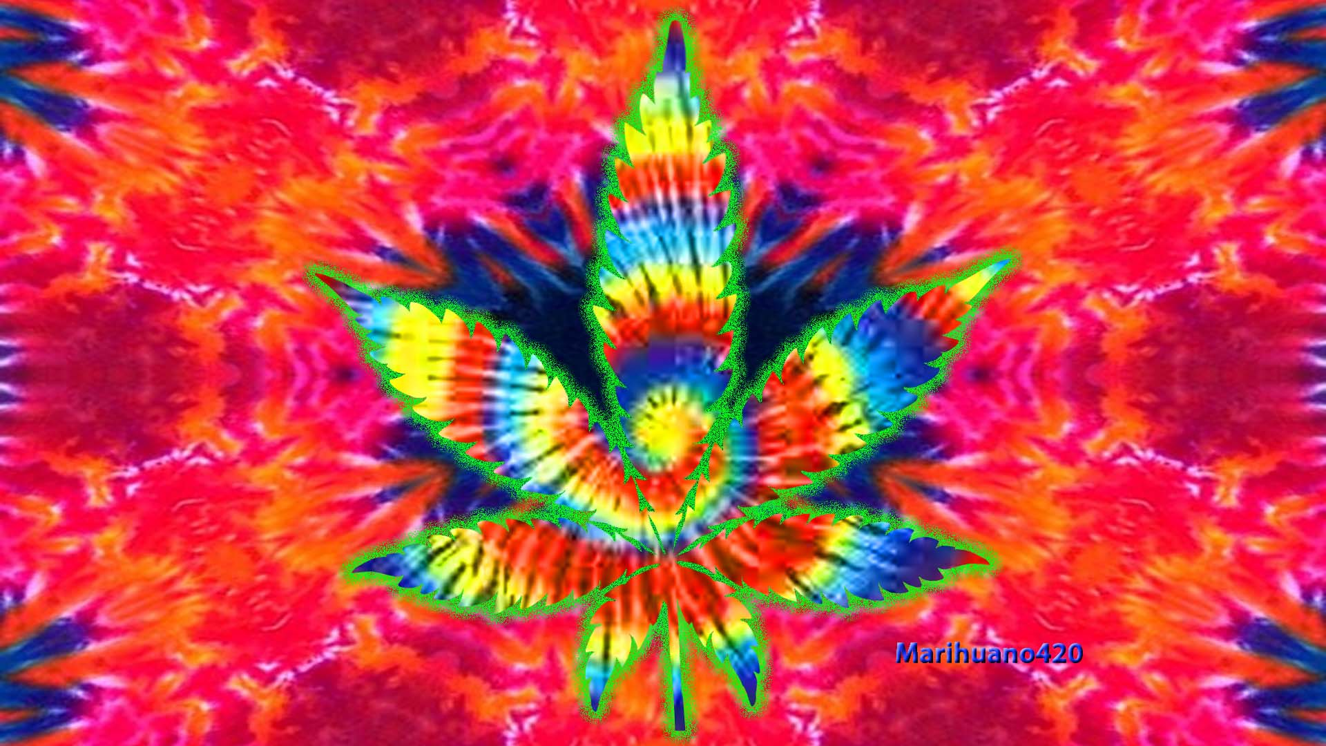 Trippy Weed Backgrounds Tumblr Hippie wallpaper weed 1920x1080
