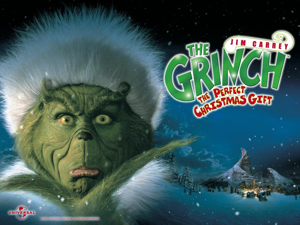 The Grinch   How The Grinch Stole Christmas Wallpaper 30805581 1024x768