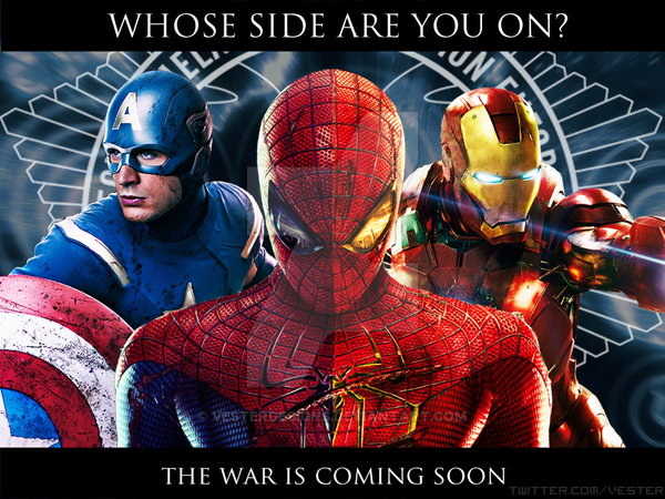 Marvel Civil War The Movie by vesterdesigns 600x450