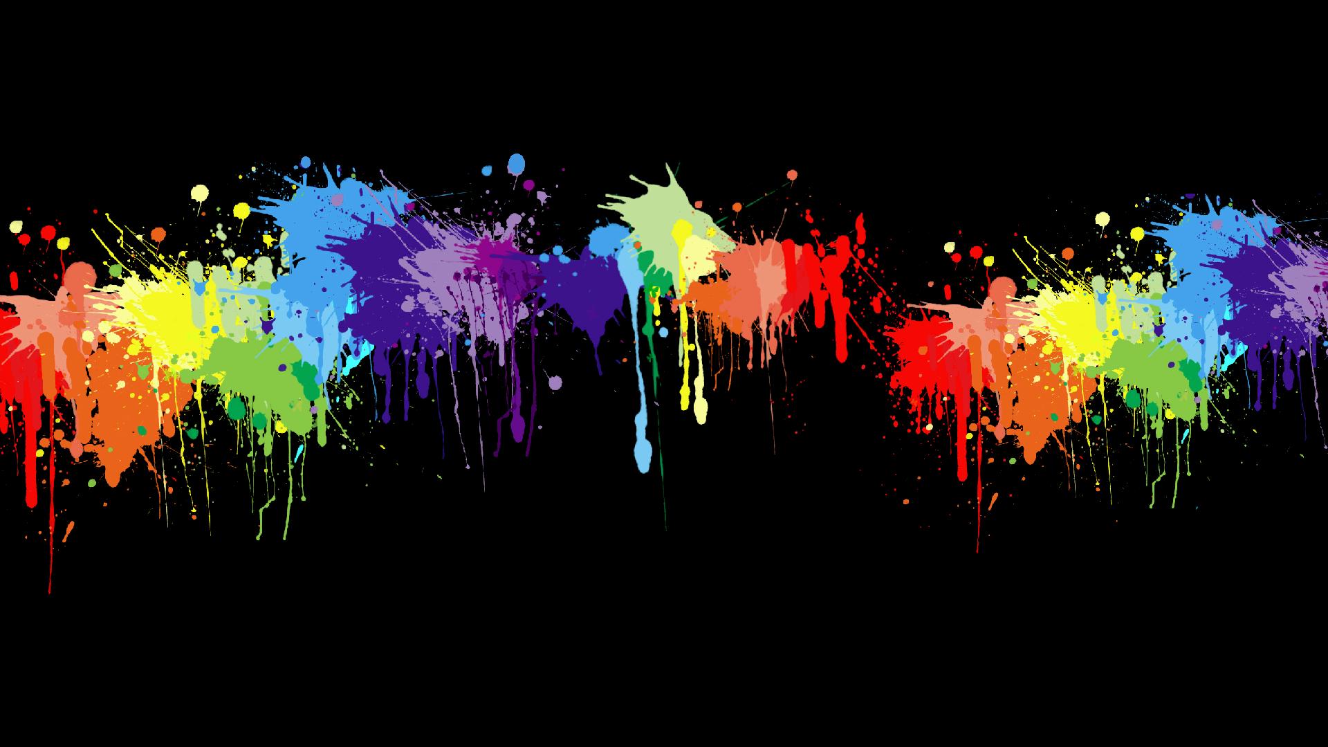 rainbow wallpaper paint images 1920x1080 1920x1080