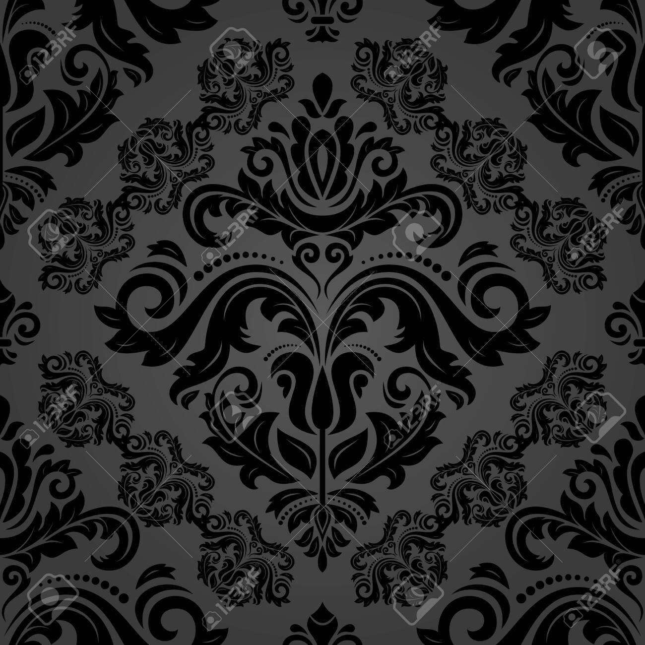 Orient Vector Classic Pattern Seamless Abstract Background With 1300x1300