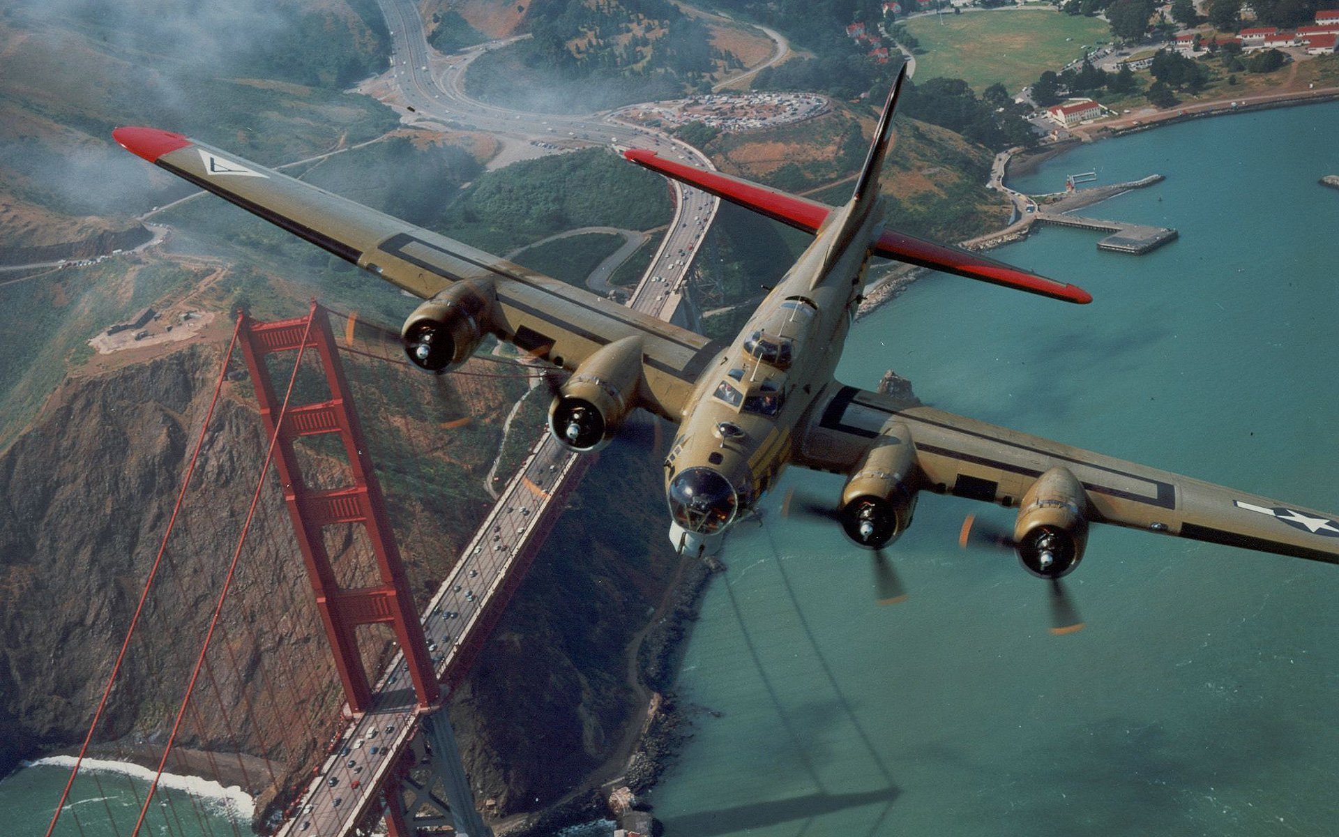 Boeing B 17 Flying Fortress HD Wallpaper Background Image 1920x1200