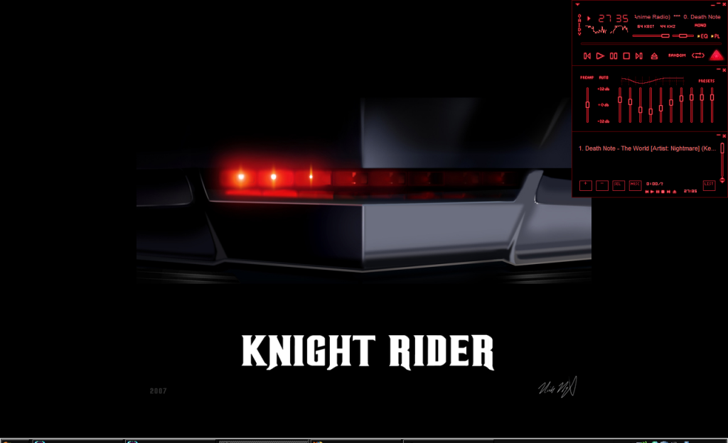 Webkliknl   Knight Rider wallpapers and screensavers 1024x624