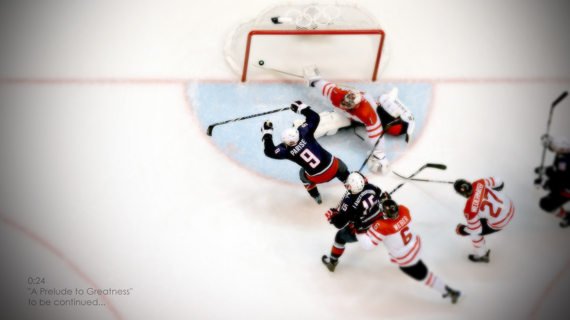 1920x1080 Winter Olympics Hockey Game desktop PC and Mac wallpaper 1920x1080